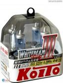 Галоген KOITO Whitebeam H8 (4000K)