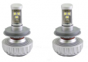 Комплект LED ламп головного света Interpower H3 CREE RADIATOR