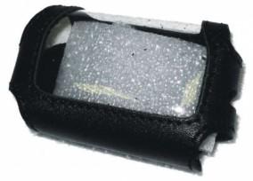 Чехол для брелока StarLine B62/B92  кожа черный