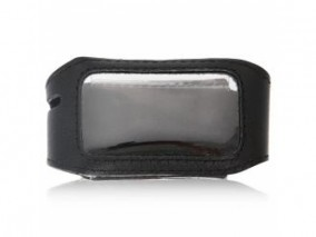 Чехол для брелока StarLine Е60/Е90 - серия кожа черный