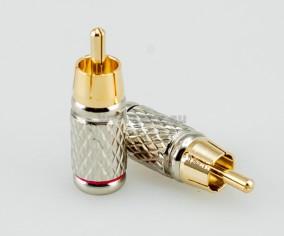 Коннектор RCA  Aura RCA-P200
