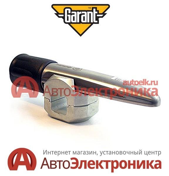 Блокиратор рулевого Гарант Блок Люкс 833.E для Mitsubishi L200 4-е пок. (2008-2013) и Pajero Sport 2-е пок. (2010-)