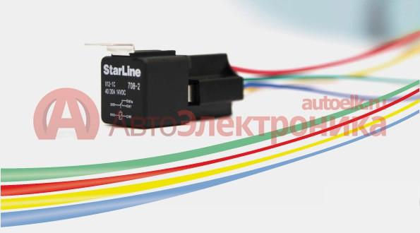 Реле StarLine 1C12 + разъем