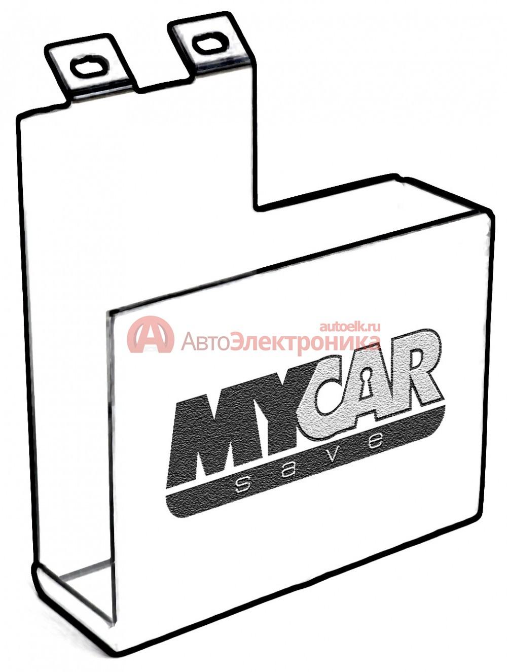 MyCarSave MCS-1413 Защитный бокс ЭБУ Toyota Camry (2011-2014) 2.0л / Lexus IS