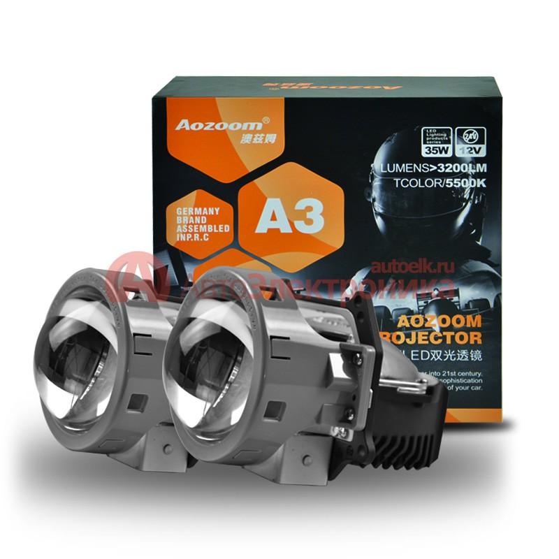 Aozoom A3 LED LENS Hi/Low Bi-LED projector LENS