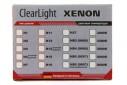 Лампа ксеноновая MAXLUM (ClearLight) H11 (H8.H9) 6000K
