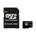 Карта памяти MicroSDHC 8 Gb Silicon Power class 10