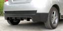 Тюнинг комплект №1 (тюнинг обвес заднего бампера, тюнинг обвес порогов, накладки на фары) для Сhevrolet Aveo(хэтчбэк 5 дв.) 2008—2012