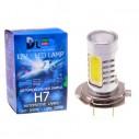 Автолампа светодиодная H7 - 9.5W + Линза CREE