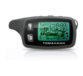 Основной ЖК брелок Tomahawk TW-9010  с широкой антенной