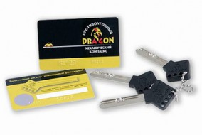 Штыревой блокиратор DRAGON на коробку передач для иномарок