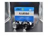 БИ-светодиодные линзы  LED bi-lens AOZOOM K2 3.0 три светодиодных чипа Черный корпус 5500К, встроенный драйвер